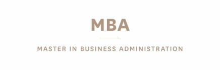 MBA - Master in Business Administration